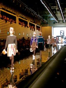 Fendi show in Milan