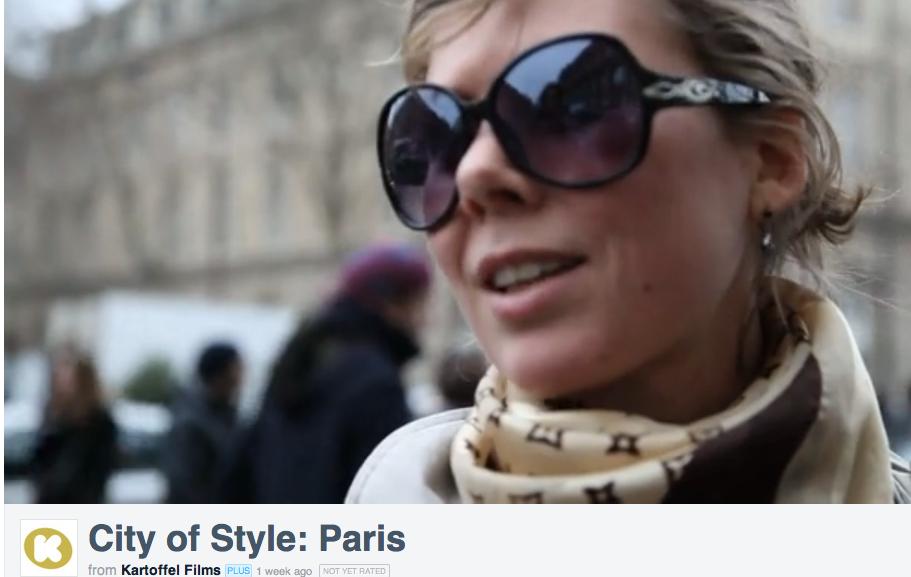 CIty of style paris