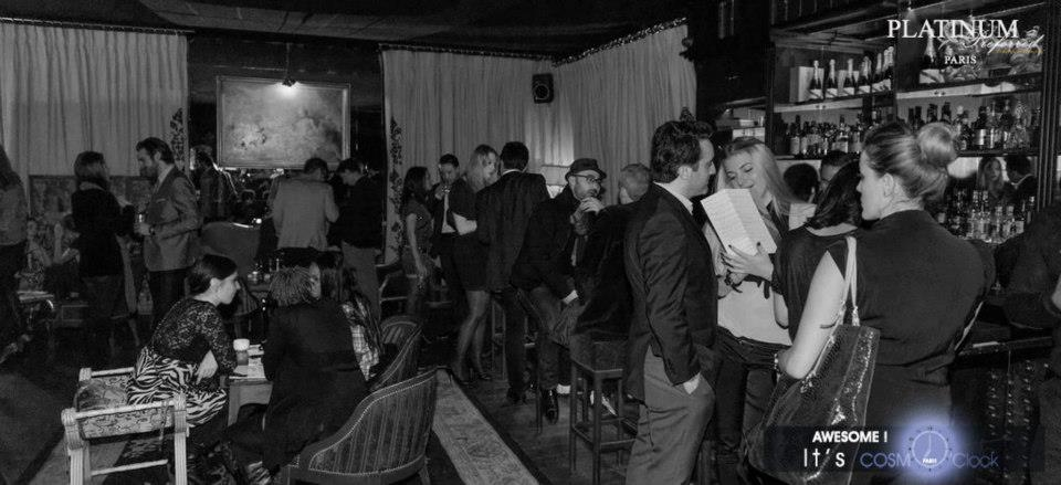 Cosmo´clock event in Paris - Trés Honoré bar