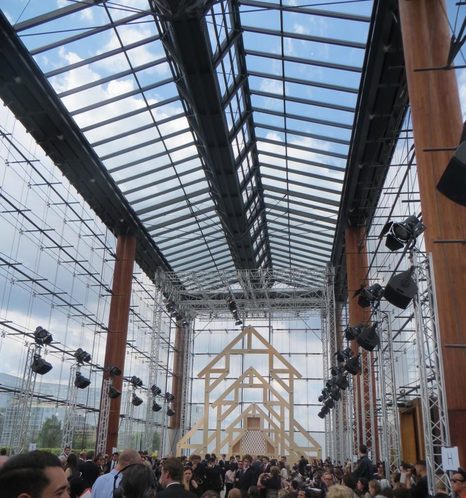 Louis Vuitton SS14 Paris - at Parc André Citroen
