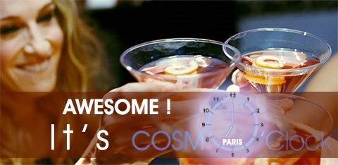 cosmo clock, Events in Paris