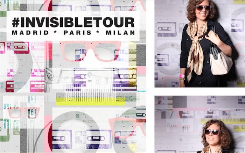 Invisible tour Marc Jacobs paris