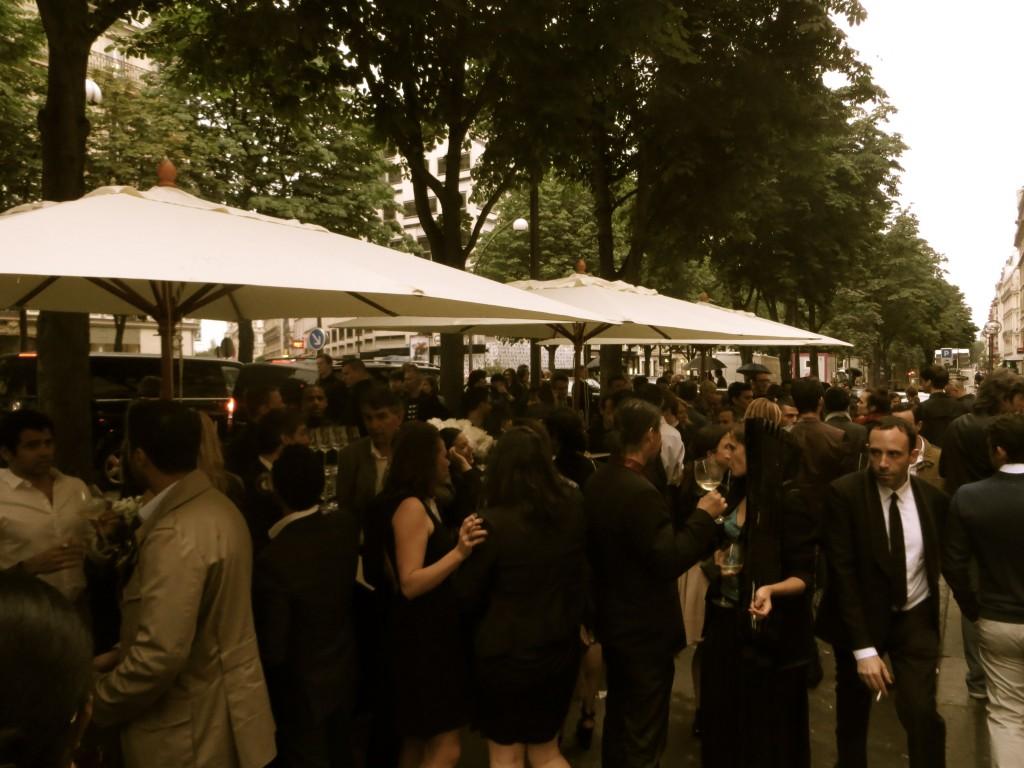 Fendi cocktail party in paris