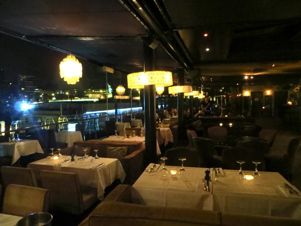 14 july in Paris 2013 at La Plage Restaurant
