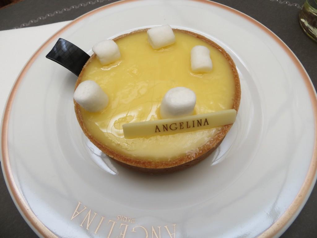 angelina, citron cake