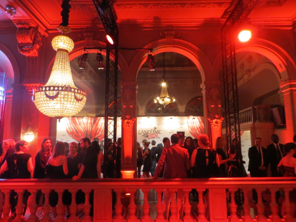Lancome by Lanvin After show party in Paris