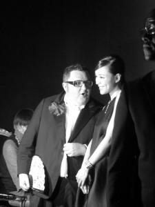 Lancome by Alber Elbaz Lanvin After show party in Paris 2013