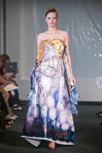 Haute Couture painting by Alexandra Mas