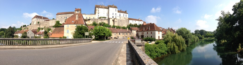 Permes city in France