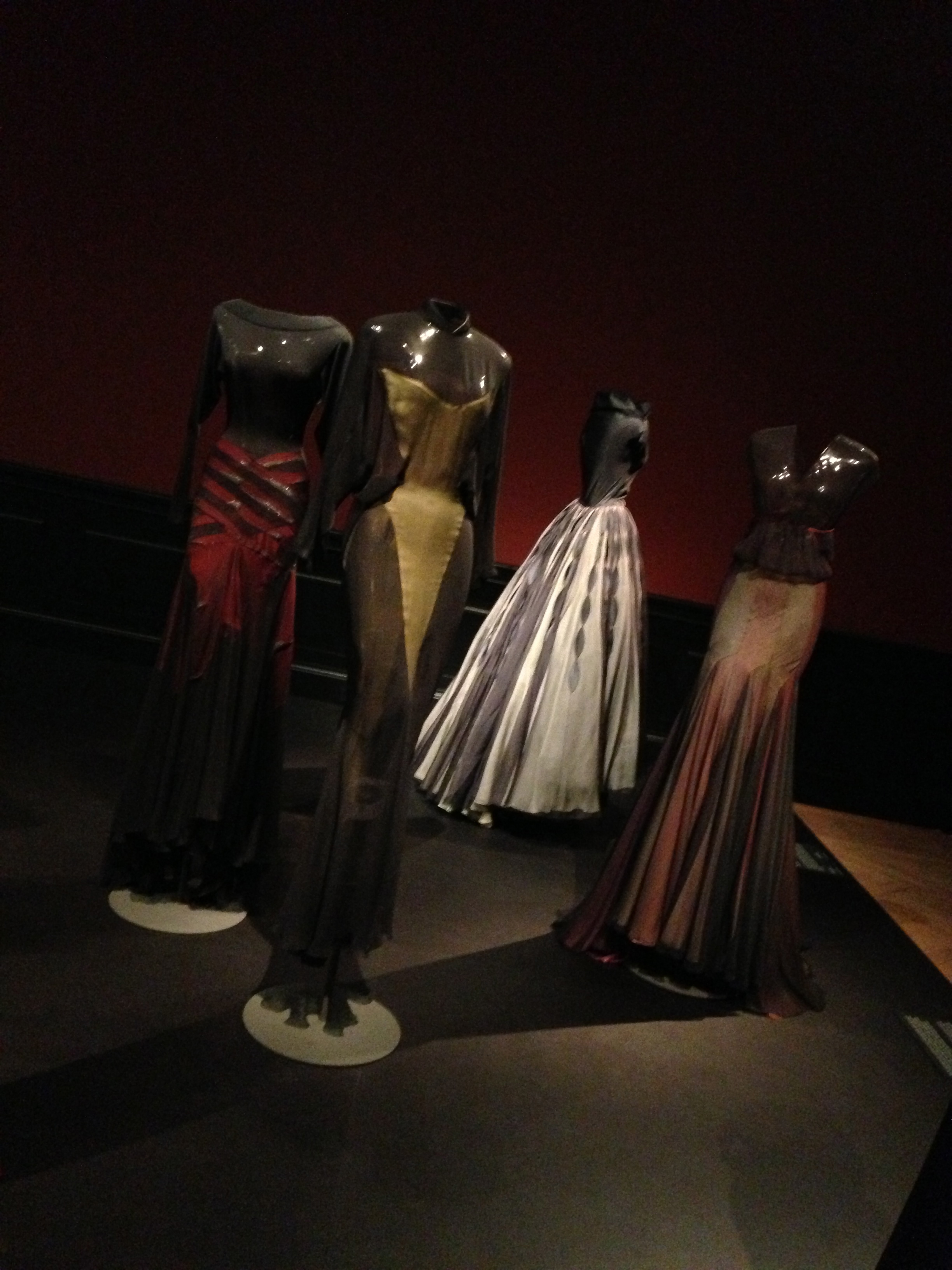 Naomi Cambell, Alaïa exhibition in Paris 2013