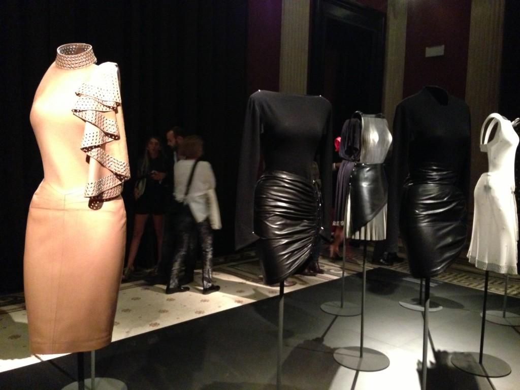 Naomi Cambell, at Alaïa exhibition in Paris