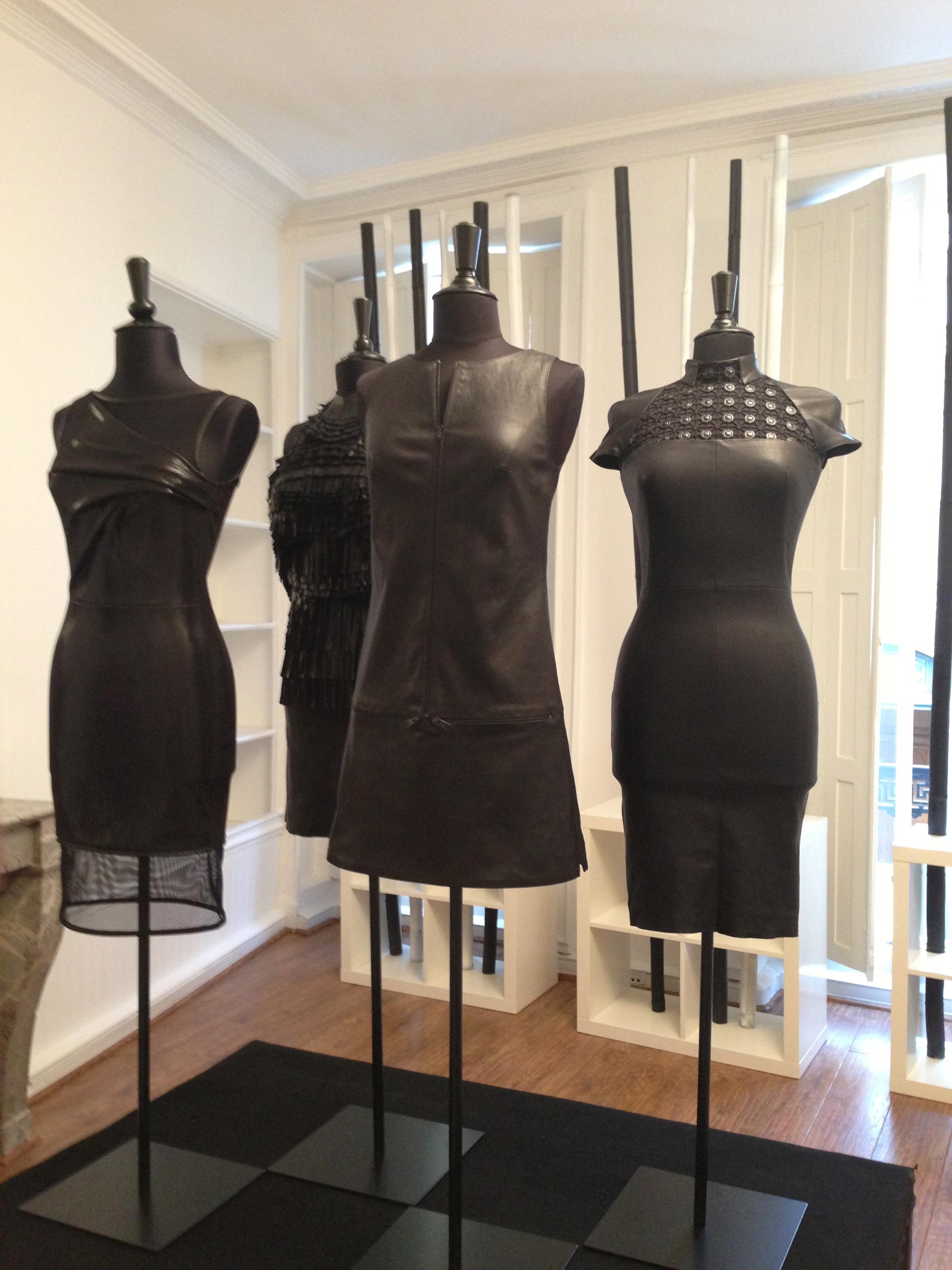 Jean Claude Jitrois at the fashion office