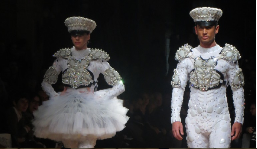On aura tout vu fashion show paris