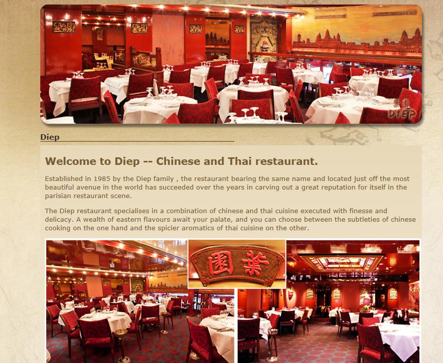 Diep restaurant