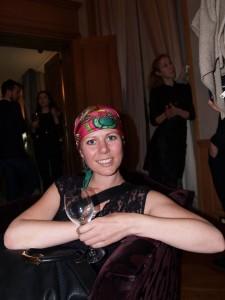 Julie Johansen at Iris Van Herpen Party