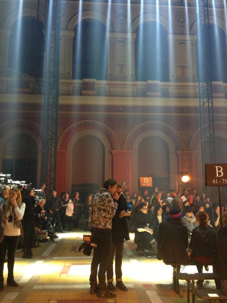 Lanvin Fashionshow in Paris 2014