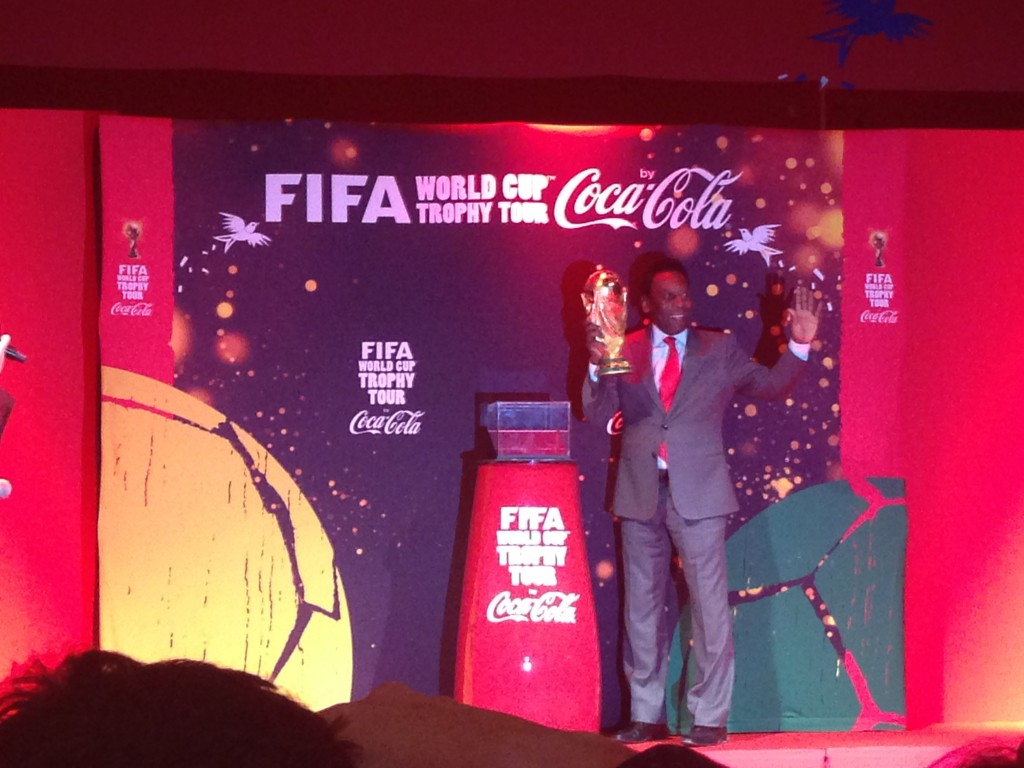 FIFA worldcup tour 2014 by coca cola