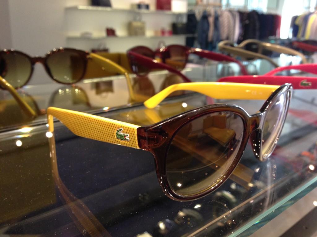 Lacoste Fall/Winter 2014-15 sunglasses