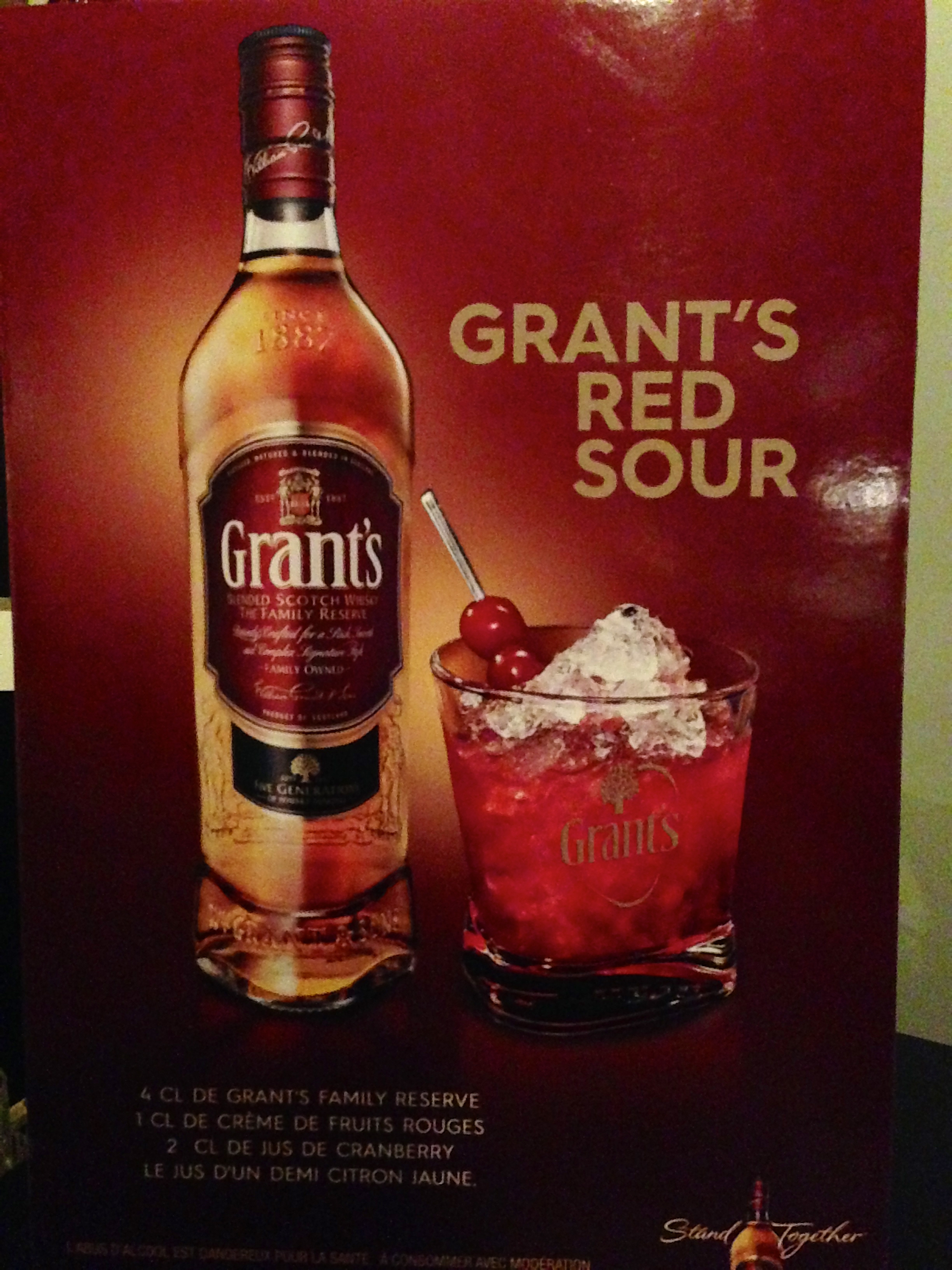Blendologie by Grant's whiskey tasting