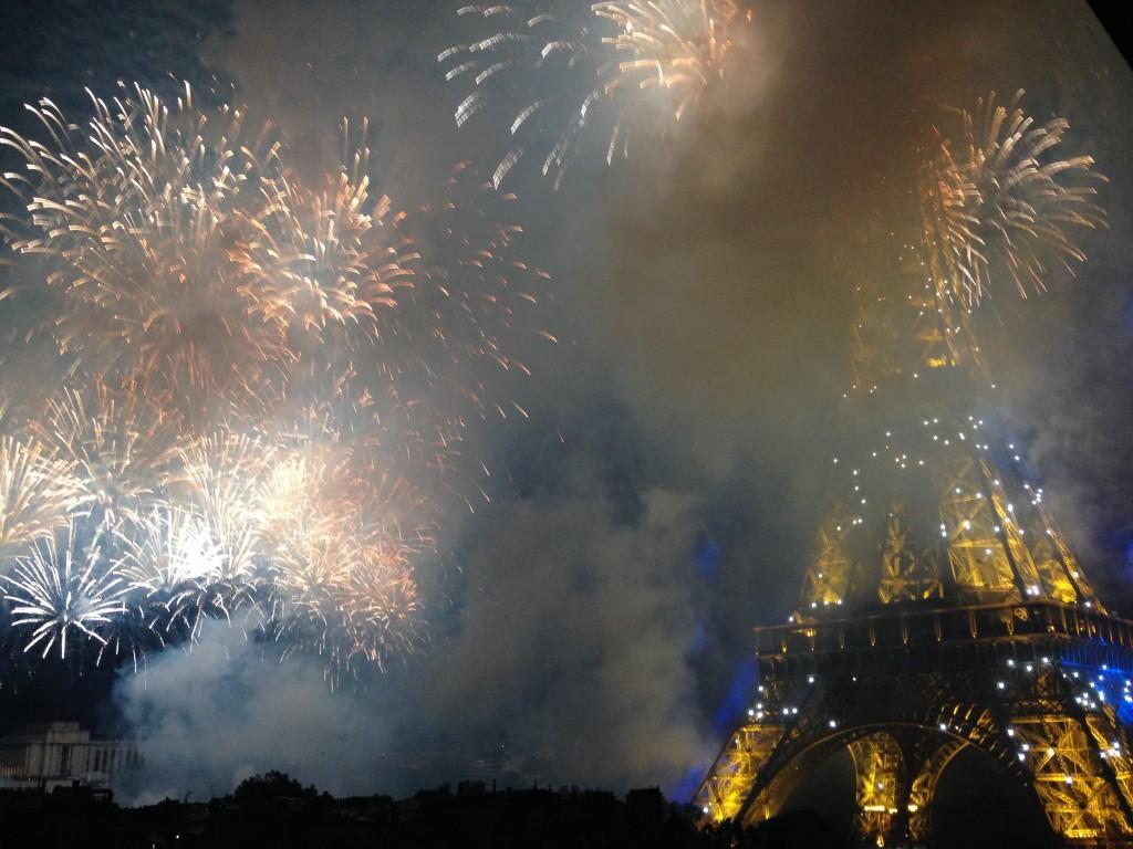14 July 2014 celebration in Paris