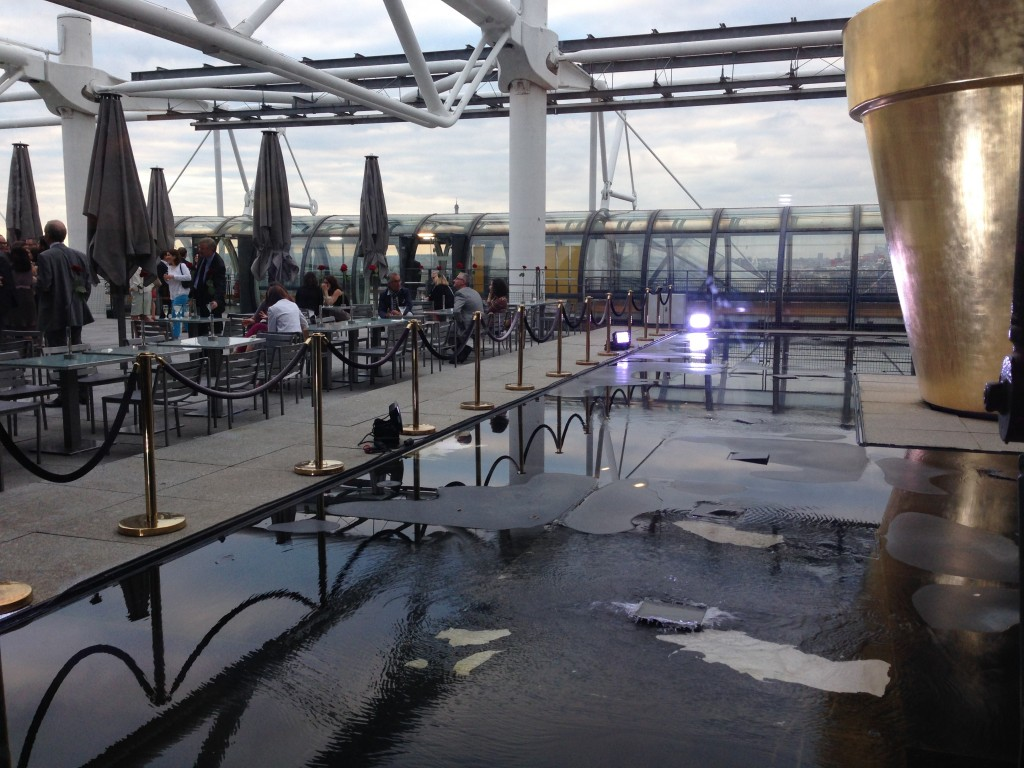 Rooftop George Restaurant paris