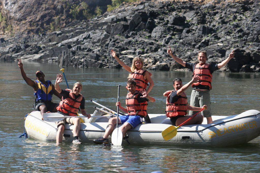 rafting 2007, vic falls, zambesi, Afrika 002