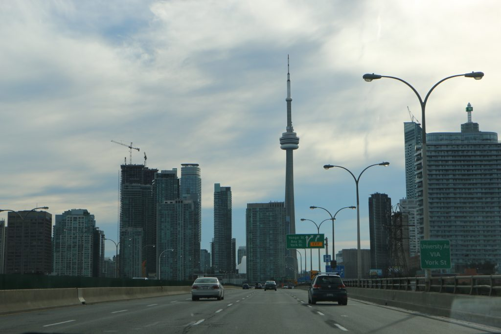 Toronto sky-line