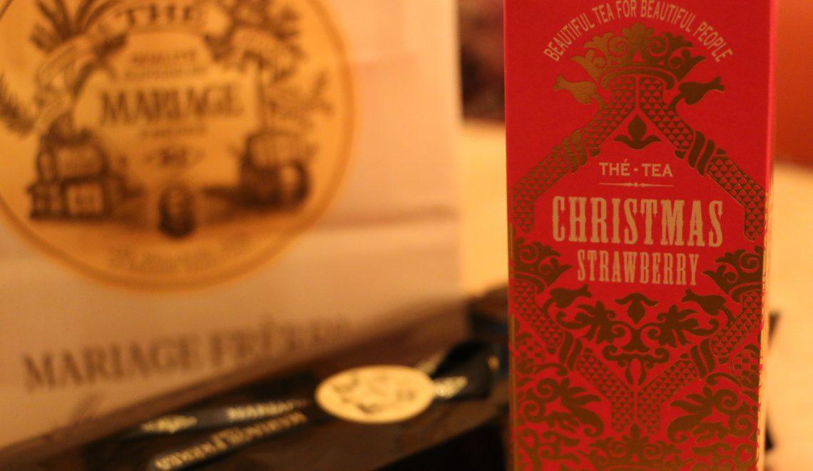 Mariage Frères christmas tea