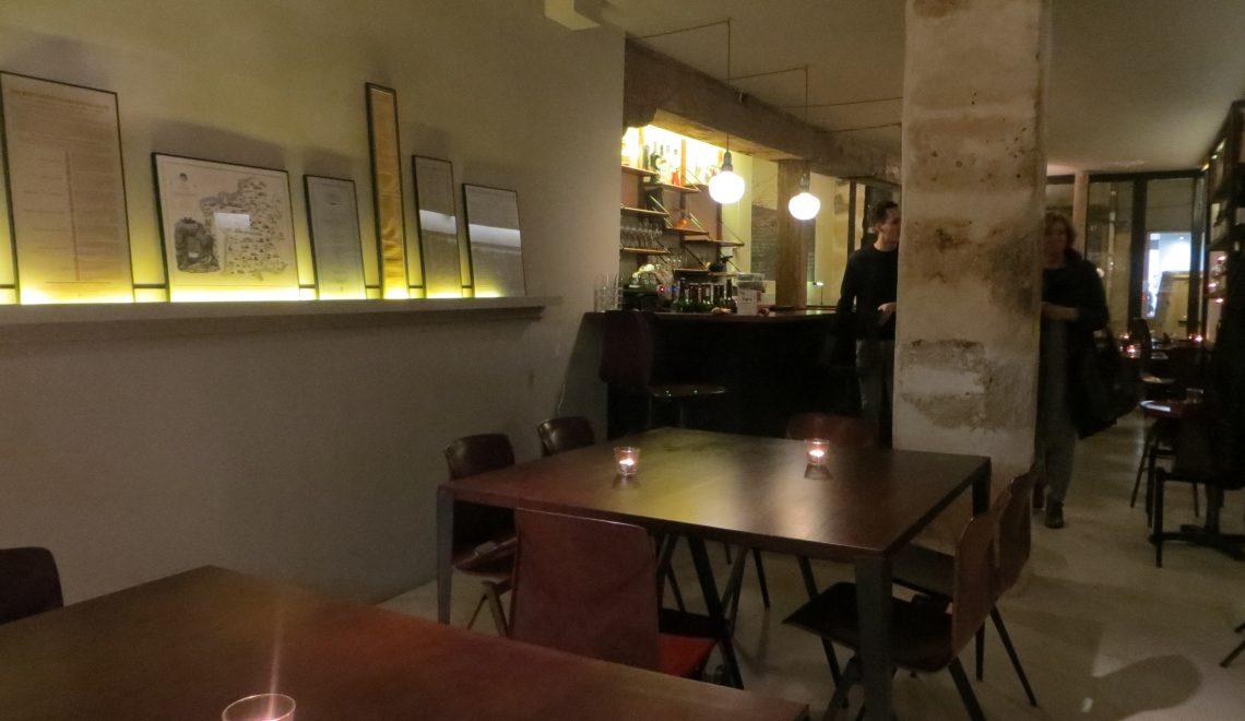 Food bistronomic restaurant paris