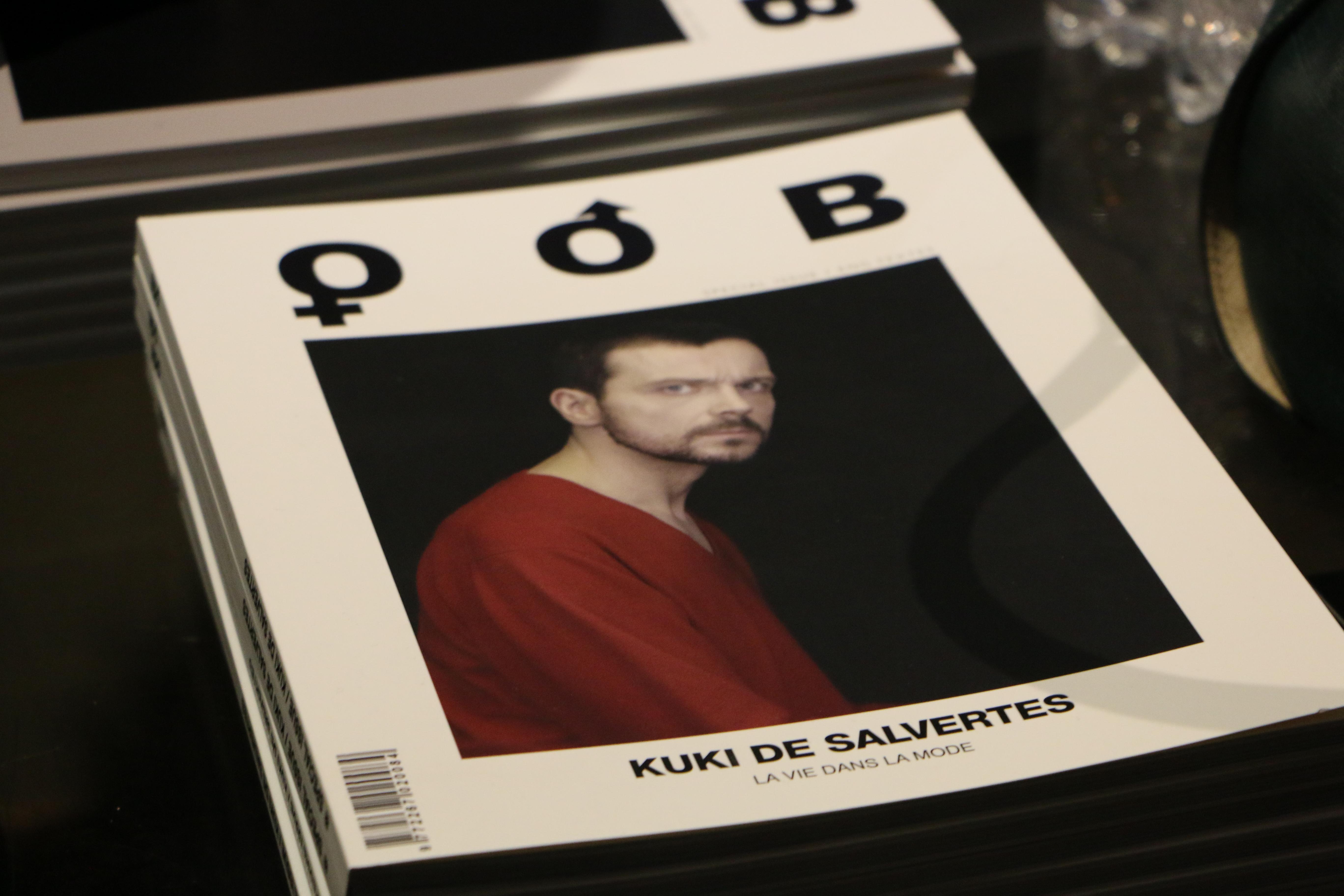 Kuki de Salvertes cocktail exhibition in paris