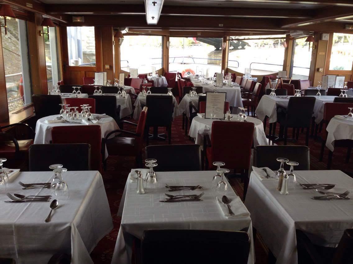 Parisian dinner cruise